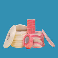 With high viscosity and double sided tape of PE adhesive resealable tape