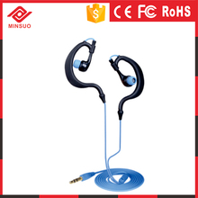 3.5mm In-Ear Waterproof Earphone For Samsun/HTC/iPhone black color earphone earset
