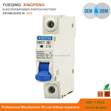Made in Wenzhou new type DZ47 1 pole 16A stronger mini mcb switch standard circuit breaker ratings