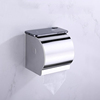 304 stainless steel wall mounted Manual hand touch paper towel dispenser bathroom toilet decorative facial tissue box