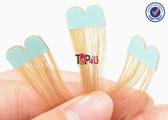 New fashion mini flower tape hair extensions