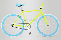 Strong 700C fixed gear bike made in China/ professinal factory fixie bike with fat tube alibaba china