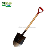 Hand Tools Wooden Handle Shovel for Garden and Agriculture