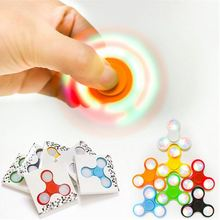 Factory Price Logo Customized Led Gyroscope Fidget Led Hand Spinner Wholesale