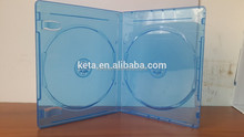 11mm Eco Friendly Double DVD Discs Blu ray Case