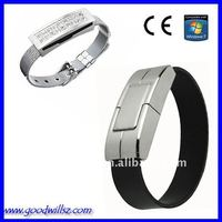 2GB Bracelet/Wristband USB Flash Drive 2.0