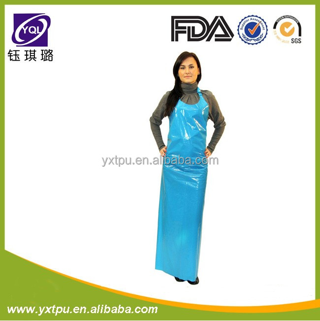 Newest Anti-hydrolysis Waterproof TPU cooking apron