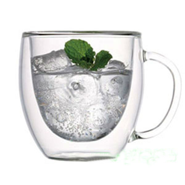 250ml Transparent Double Wall Beer Ice Mug