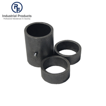 Hot sale sleeve round pipe hinge/hinge sleeve with 2 collars