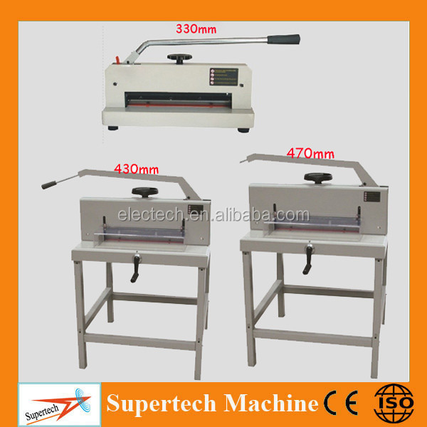 330/430/470MM Manual Paper Cutter, A3 heavy duty manual guillotine paper cutter, Manual paper cutting machine