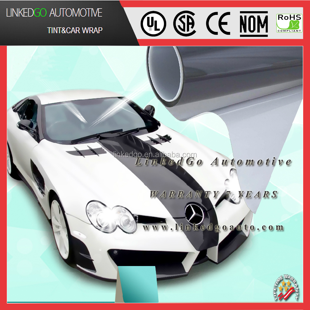 Best price 5% Limo black 2ply 1.52*30m car solar window protective film