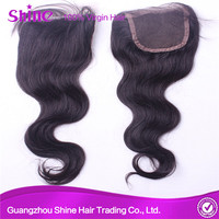 unprocessed raw virgin 100% malaysian human hair for black women lace closure