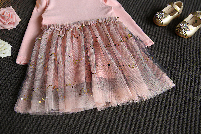 Baby Girl Winter Dress 2017 Fashion Spring Autumn Princess Girl Long Sleeve Sweater TuTu Dress Kids Christmas Dresses For Girls