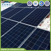 cis solar panel structure power system