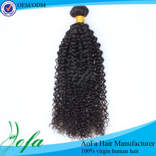 Wholesale virgin braiding kinky curly wig for black women