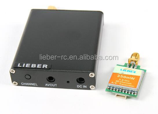 LIEBER MINI 350MW TX 40channels 5.8GHZ FPV Transmitter for FPV Aircraft A21