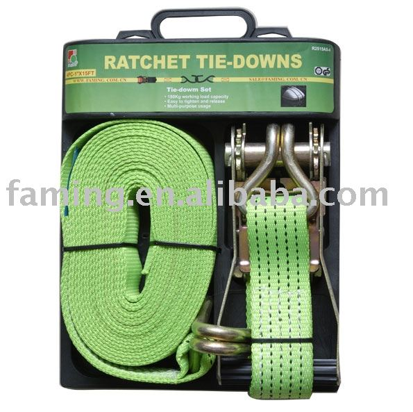 "2"" Heavy duty ratchet strap 5000kgs"