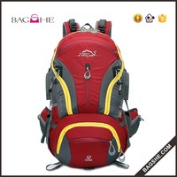 40l travelling climbing backpack with rain cover