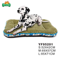 Drop shipping Pocket Dog Bed Sherpa Top Leaves Pattern Painting