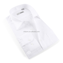 New arrival White Men's business Shirts professional mtm shirt with CMT price