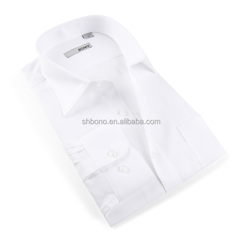 White Mens Business Shirts with CMT price