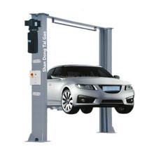 4.5T Electric 2 Post Clear Floor Gantry Car Lift and Auto Car Lift For Car Washing