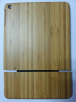 Factory price Hard Bamboo & Wooden Cover Case for ipad air 5