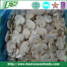 High quality Frozen champignon mushroom whole/quarter/slice 2017 new crop