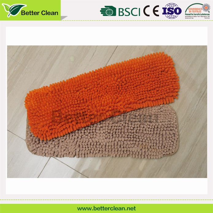 360 degree easy floor cleaning replacement chenille mop pad