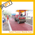 red mixture Asphalt product