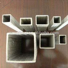 Q235, Q195, Q345 square & rectangular stainless steel pipe weight