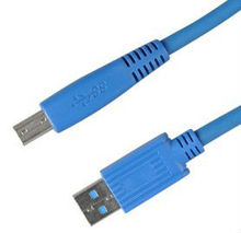High-speed USB Cable AM/BM, Nickel-plated Connector