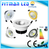 AC 110V 220V Dimmable Recessed led downlight cob 5w led downlight
