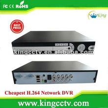 8CH Stand alone DVR Network DVR HK-S3208F Support DVD RW Network TV VGA USB Mouse 3G Mobile Multi-language