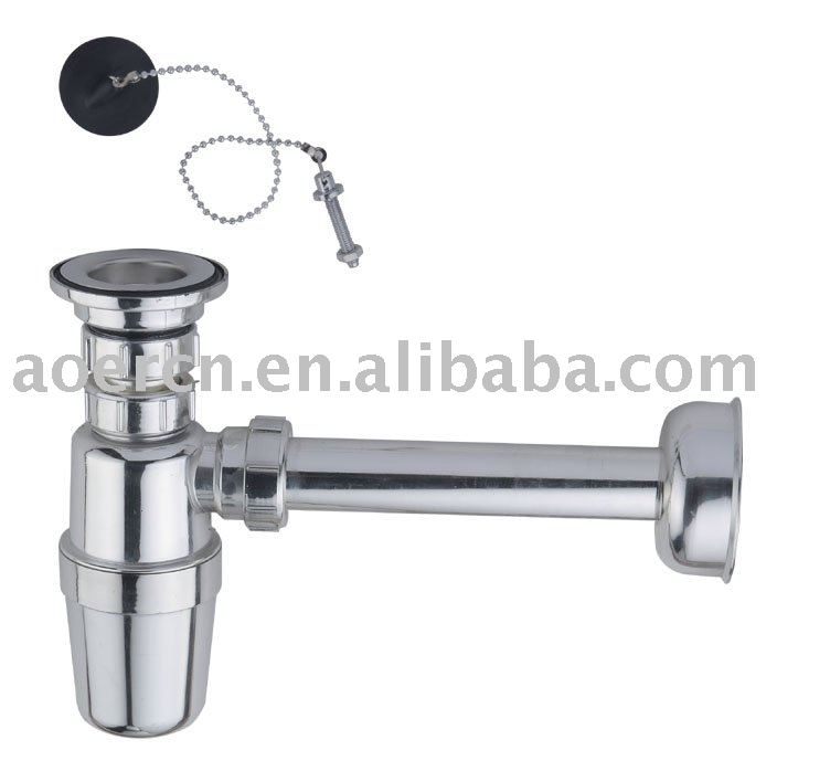 Kitchen Sink Trap Buy Drainer With Plate Chromed Basin Drainer Waste Drainer Product On Alibaba Com