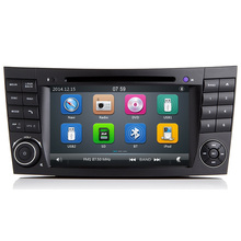 Wince 6.0 New Car DVD Radio Player GPS for Mercedes Benz W209 W211 W219 W463 E200 E220 E240 E270 E280 E300 E320 + Canbus BT RDS