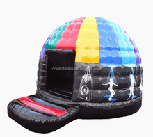 inflatable disco music jumping dome tent on sale