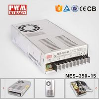 NES 350W 15V 23.2A Industrial Single Output SMPS AC DC Switching Power Supply Led Driver voltage transformer