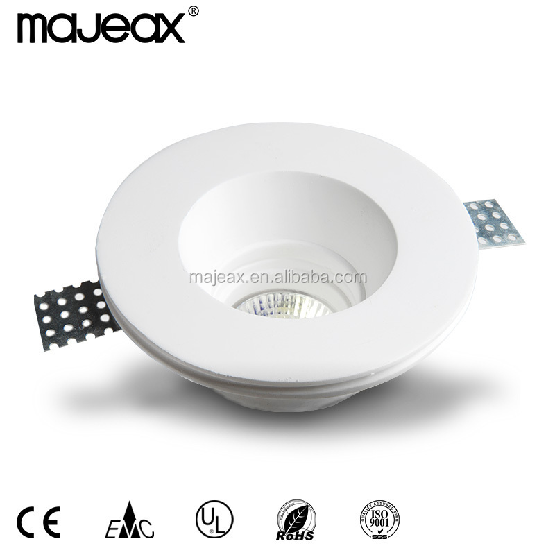 Modern gesso Trimless Round LED Recessed downlight