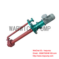 High temperature molten salt pump