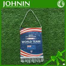 Customized Logo hanging soccer pennants