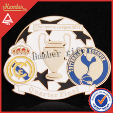 New Design Champions league pin badge