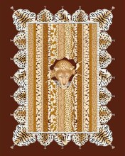 2014 Durable 100% Polyester Muslim Pray Rug/Carpet custom print