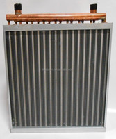 water to air heat exchanger for wood boiler