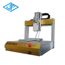 Low cost manual glue high precision dispensing equipment for mobile frame