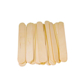 "Multipurpose eco friendly disposable high quality 10"" wooden ice cream popsicle sticks art and craft"