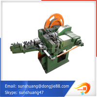 China supplier alibaba website com flat head roofing nails making machine