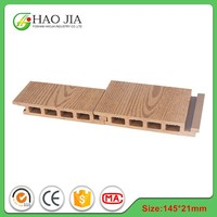 2015 hot sale high quality wood material wpc composite decking price