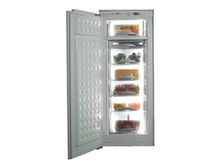 Stereo standing refrigerator