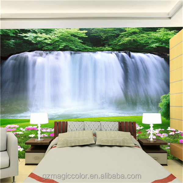 caliente vinilo paisaje papel pintado decorativo papel pintado hermoso papel de pared buy product on alibabacom